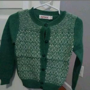 Aymara Girls Cardigan size 4Y